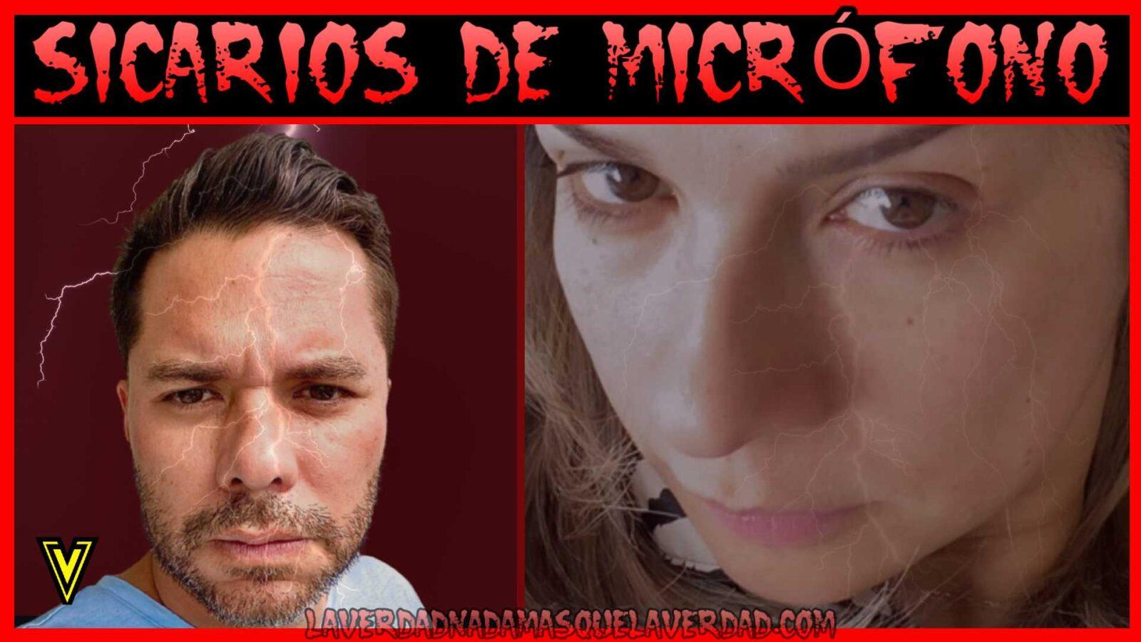 SICARIOS DE MICRÓFONO ≫ VICKY DAVILA ≫ LUIS CARLOS VELEZ ✅