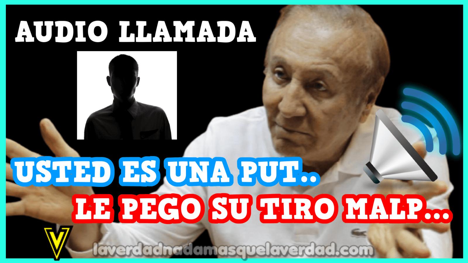 """""""Le pego su tiro"""": se filtra acalorada conversación del candidato presidencial Rodolfo Hernández"""