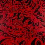 "Echelon 3, 2014. Acrylic on canvas. 36"" x 36""."