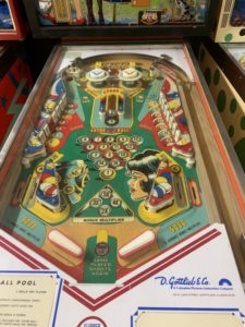 Gottlieb Pinball Playfield