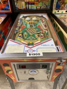 Gottlieb Pinball Pool Coin Door