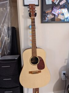 2002 USA-built Martin DXM Acoustic Electric $499