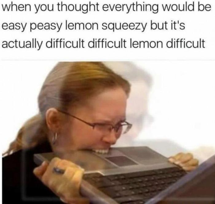 easy peasy lemon squeezy meme