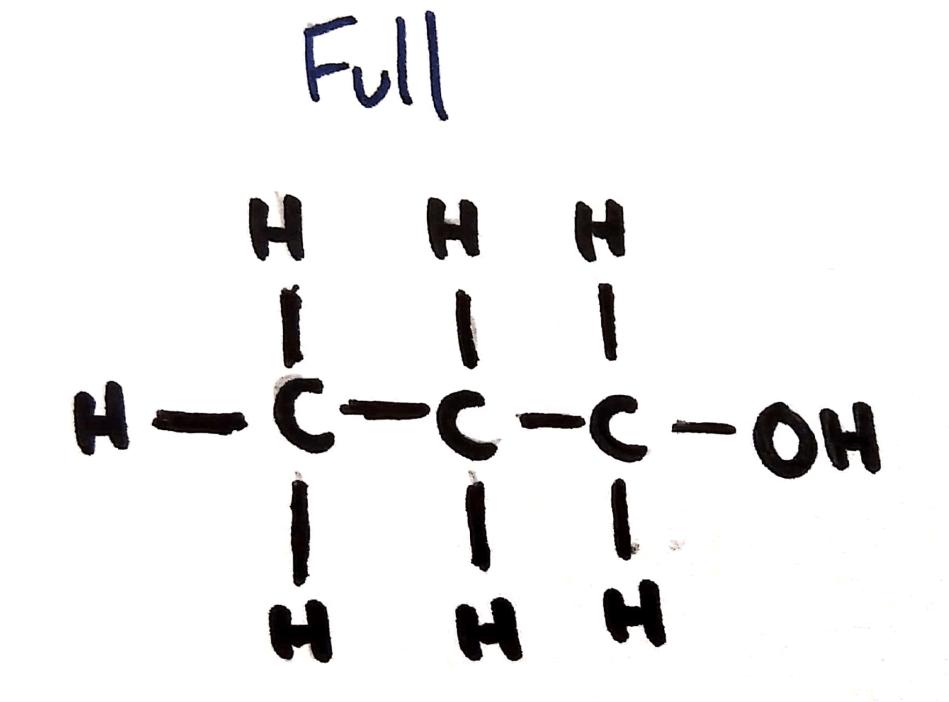 Full formula (Organic chem)