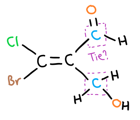 EZ isomer hard example