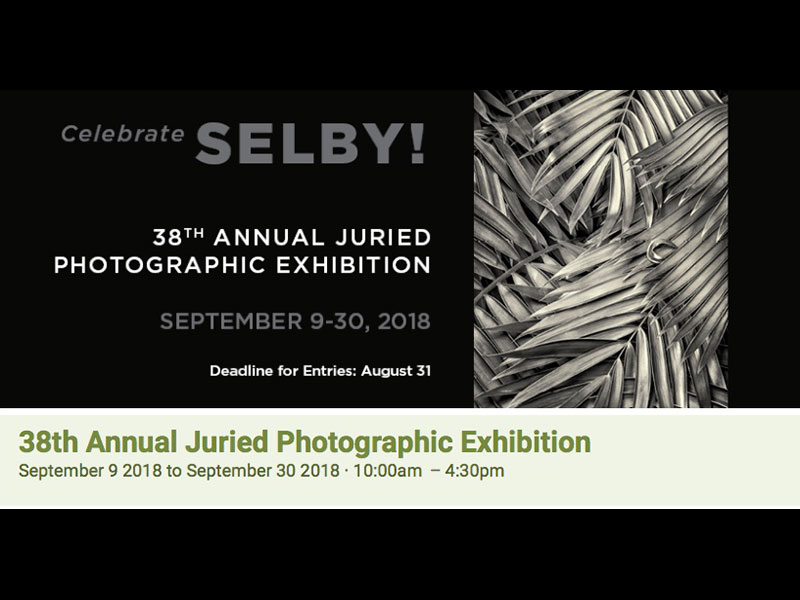 Selby Gardens 38th Juried Photographic Exhibition