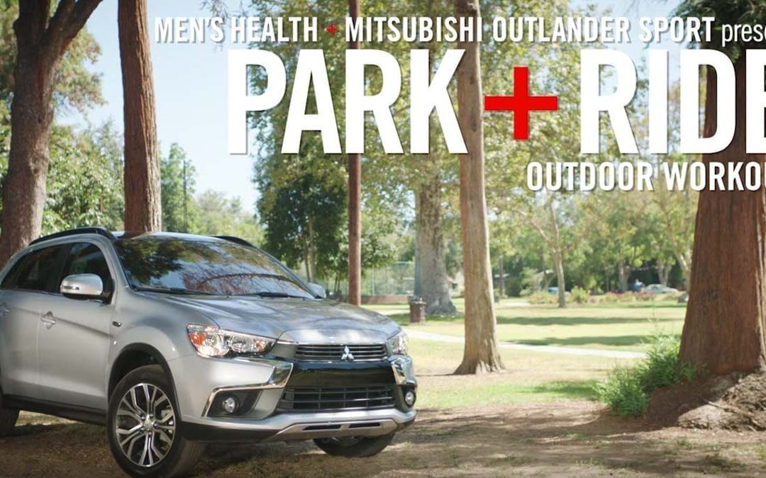 MENS HEALTH MITSUBISHI – OUTDOOR WORKOUT