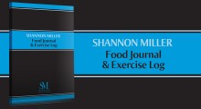 Shannon Miller Food Journal & Exercise Log