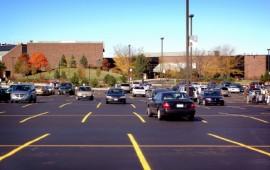 Parking lot safety.