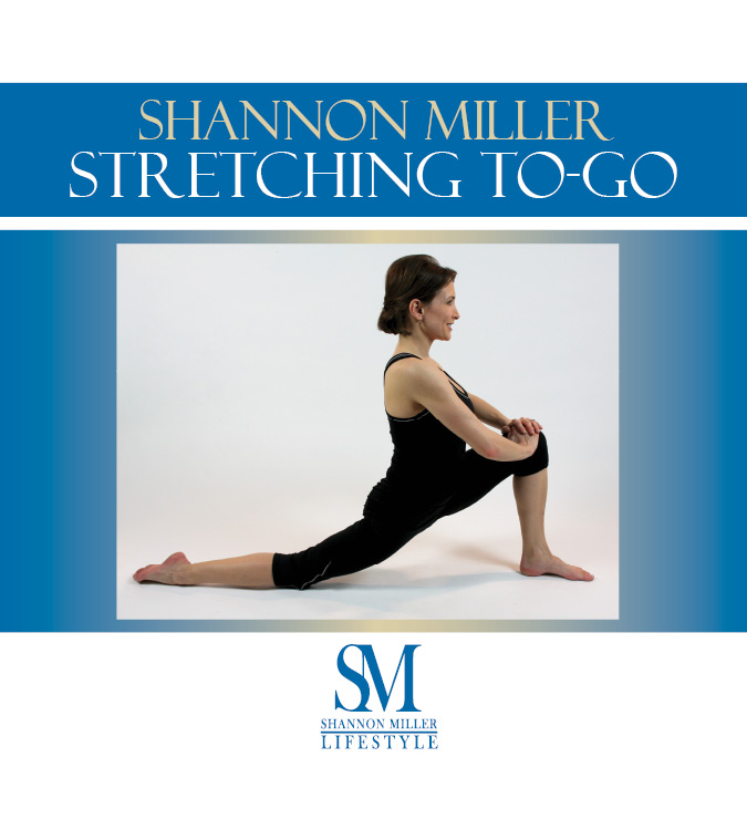 Shannon Miller Stretching To-Go book.