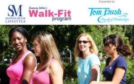 Women enjoying Shannon Miller's Walk-Fit Program