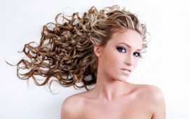 Lady with beautiful hair, for female pattern hair loss article
