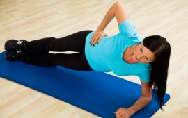 Sideplank for ab exercise
