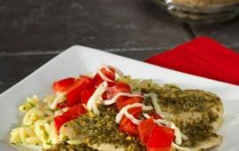 Tilapia Caprese Salad