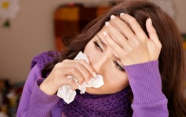 Woman sick with TSS