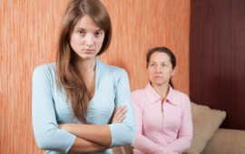 mother daughter stress and mistakes