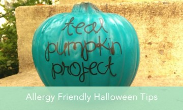 Teal Pumpkins show Allergy Friendly Halloween Stops