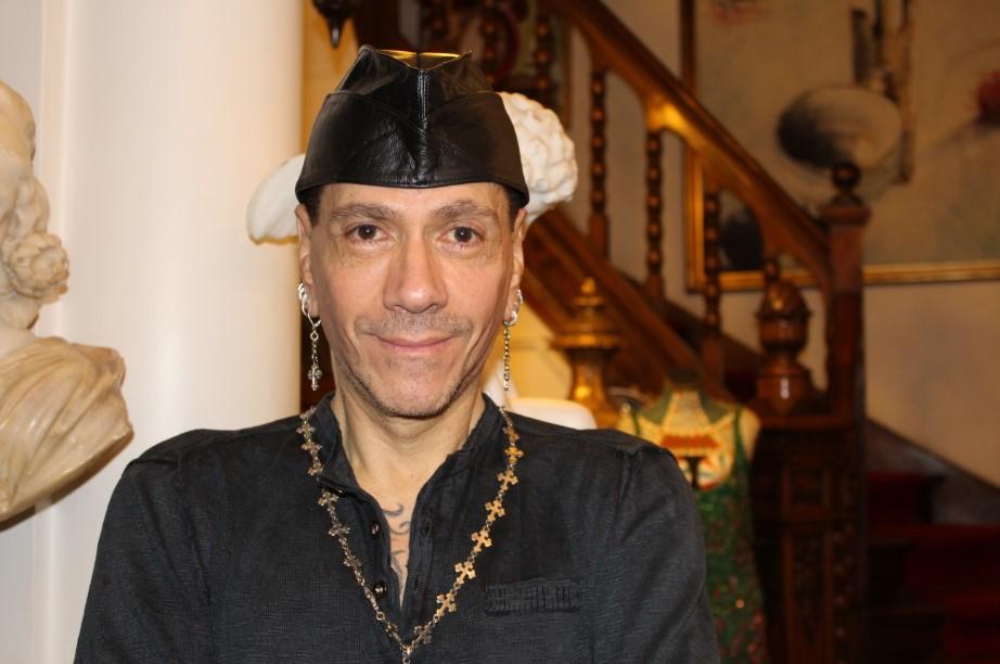 Roberto Piazza en su Maison de Alta Moda