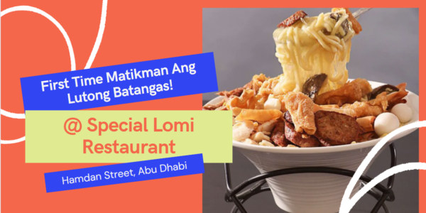 Special Lomi Restaurant Review