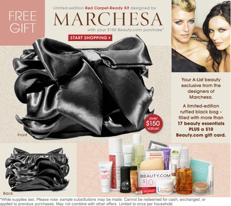 Marchesa Bag Gift with Purchase