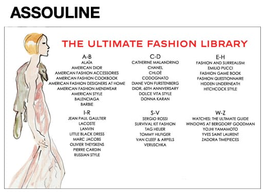 Assouline's Ultimate Fashion Library