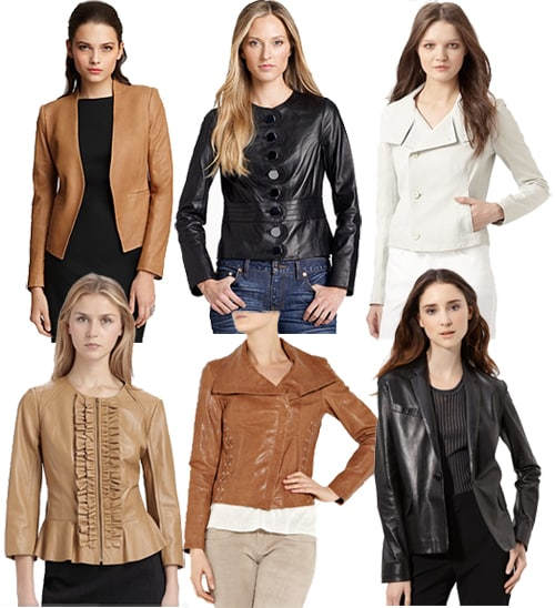 Leather Jackets for Spring