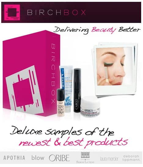 Deluxe Beauty Samples from BIRCHBOX