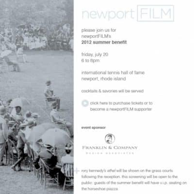 newport FILM Summer Benefit