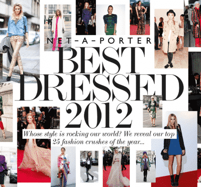 NET-A-PORTER Best Dressed 2012