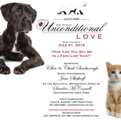 3rd Annual Unconditional Love Benefit Invitation