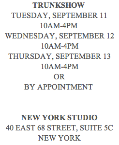 Charlotte Brody Trunk Show