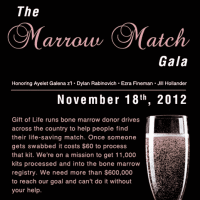 The Marrow Match Gala