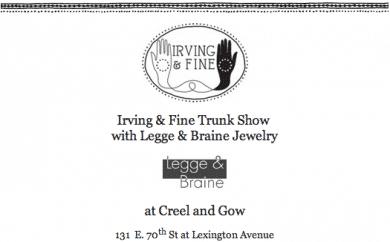 Irving & Fine with Legge & Braine Jewelry