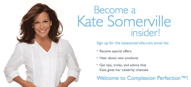 Kate Somerville at Bergdorf