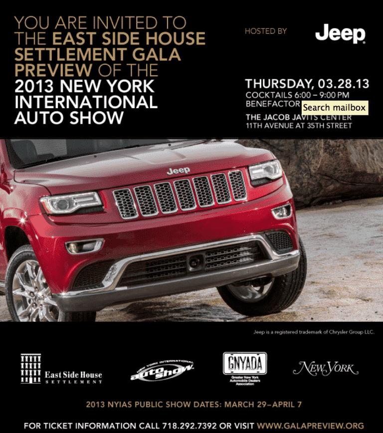 East Side Settlement Auto Show