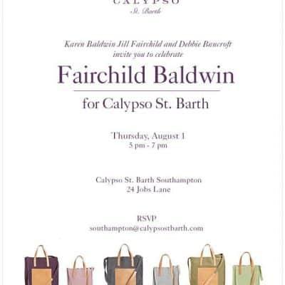 Fairchild Baldwin for Calypso St. Barth