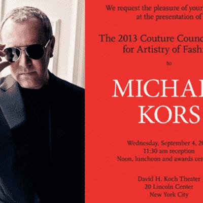 couture council michael kors