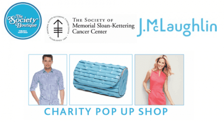 J.McLaughlin and The Society of MSKCC Pop Up