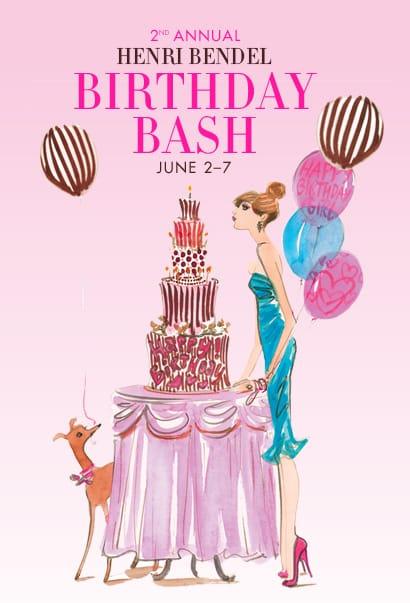 Henri Bendel Birthday Bash