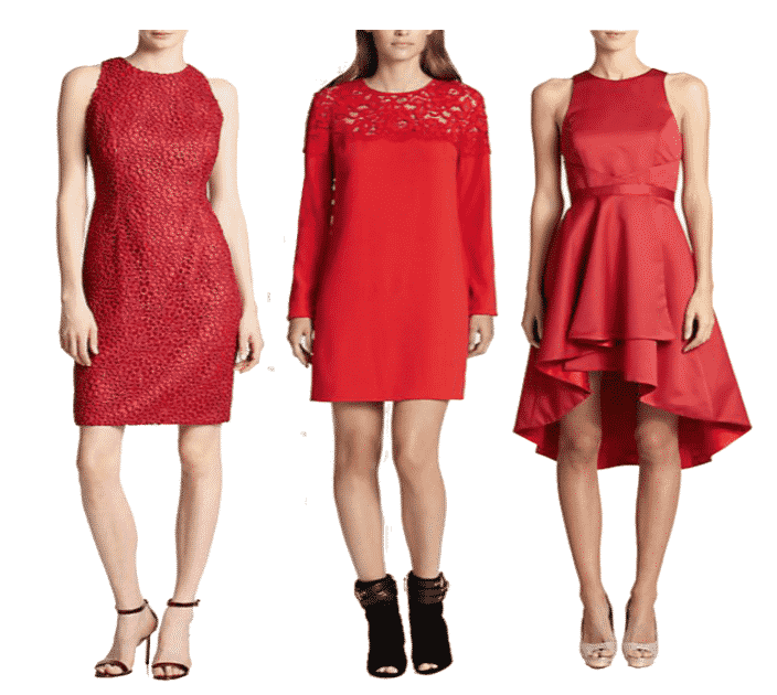 Top 10 Holiday Red Dresses