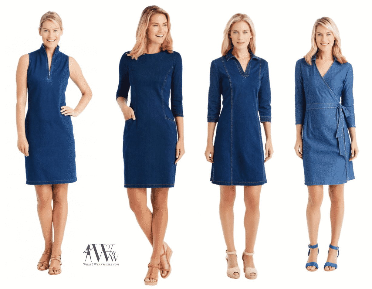 Buy Now:  Denim Dresses & Stuff