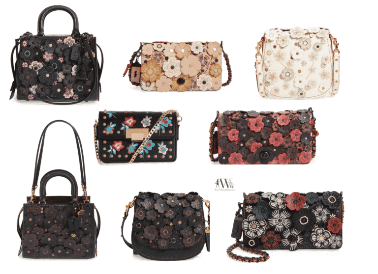 BUY NOW:  Floral Bags For Mom