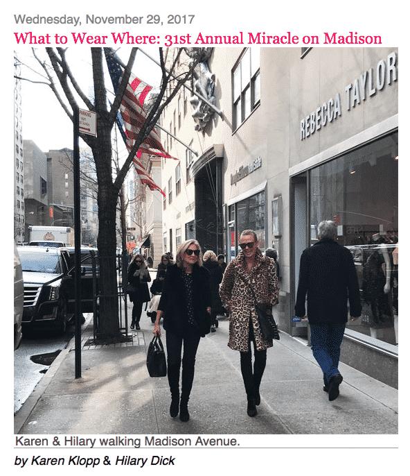 NYSD MIRACLE ON MADISON