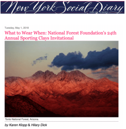 NYSD National Forest Foundation