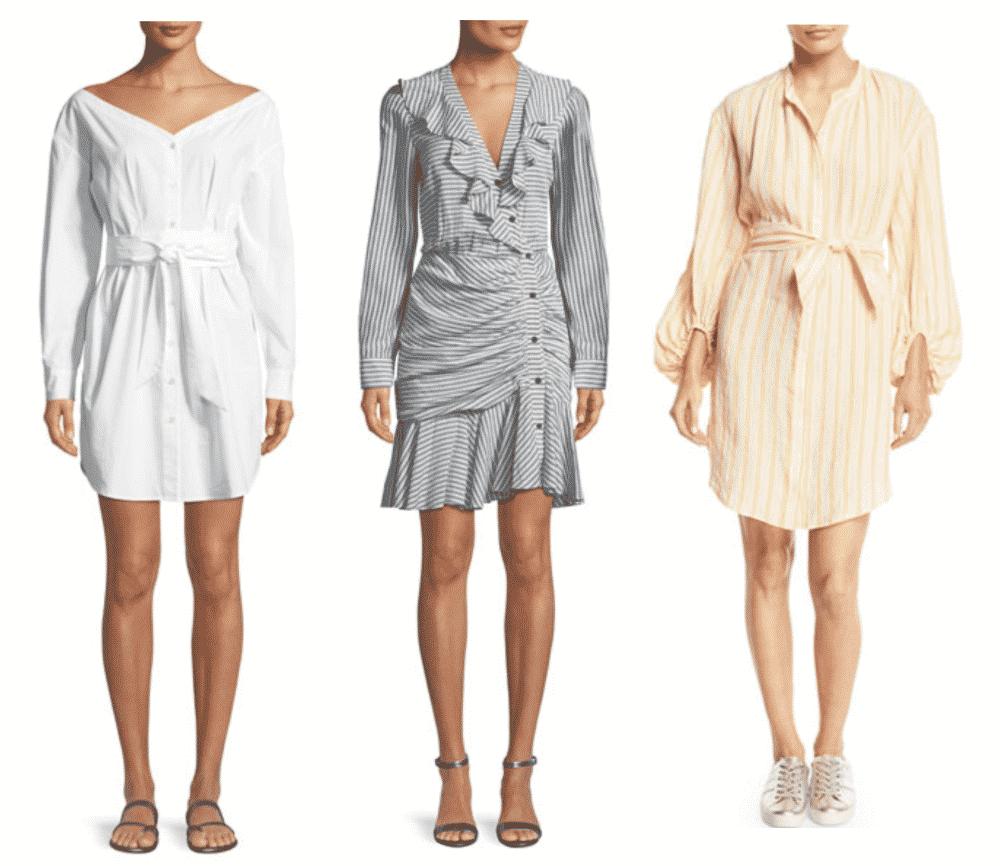 Summer Shirt Dresses