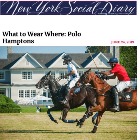 NYSD  Hampton Polo