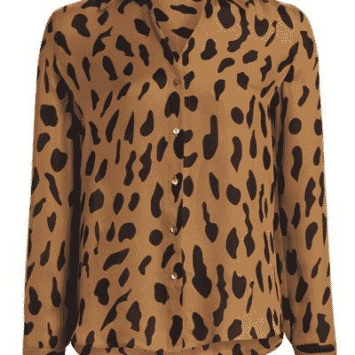 Fall Trending animal print blouses