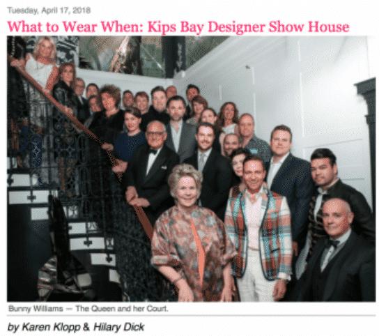 NYSD Kips Bay Show House