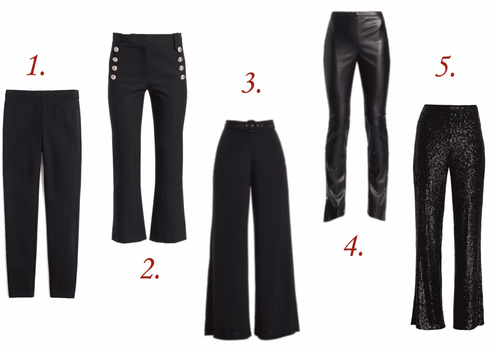 5 Must Have Black Pants