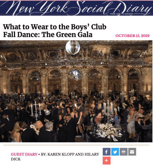 NYSD Boy's Club Dance